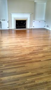 wood after