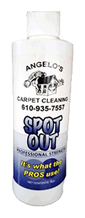 free spot out stain remover from angelos carpet cleaners