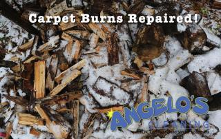 how to fix a carpet burn