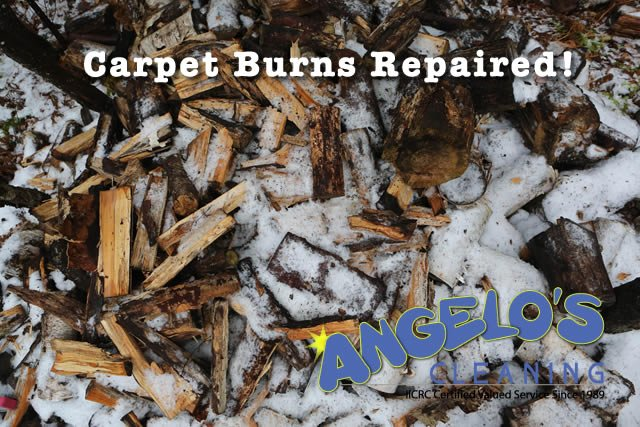 how to fix a carpet burn