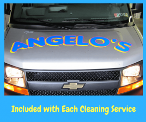 Included with Each Cleaning Service