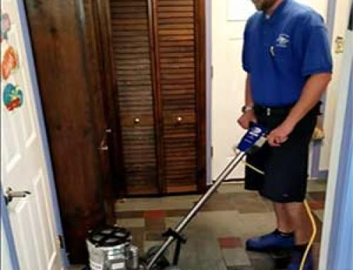 Tile Floor Cleaning Video