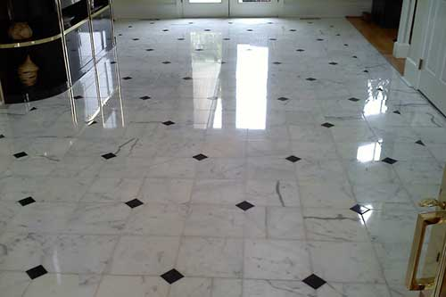 stone tile cleaning