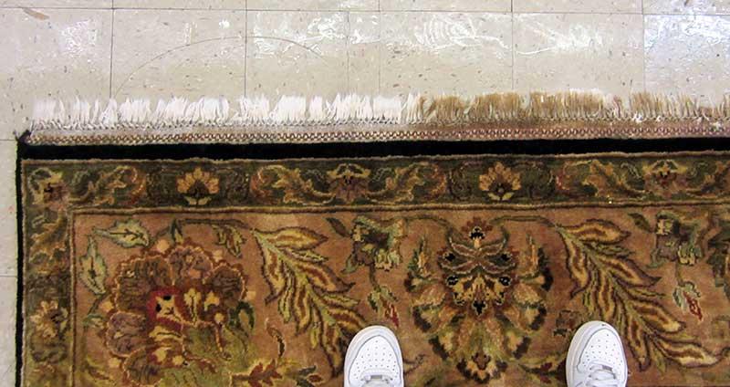 carpet fringe cleaning