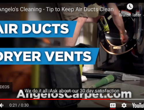 Angelo's Tip to Keep Air Ducts Clean