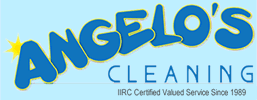 Angelo's Cleaning logo