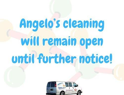 Angelo's cleaning will remain open until further notice